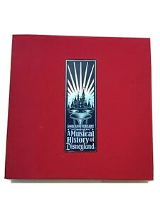 A Musical History Of Disneyland - 50th Anniversary 6 CD,s And Book