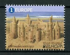 Belgium 2017 MNH Europa Belgian Castles 1v Set Castle Architecture Stamps