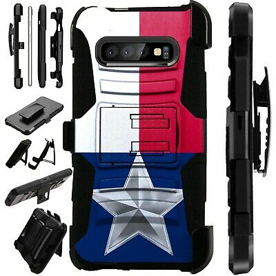 Luxguard For Samsung Galaxy S10/s9/s8/plus Phone Case Cover Texas Flag Cell Phones & Accessories Cell Phone Accessories