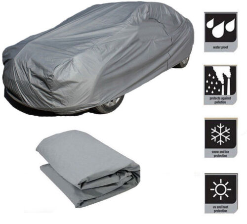 New Large Full Car Cover Heat UV Protection Waterproof Outdoor Dustproof UK