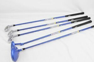 5 x Longridge Tiger Plus Junior Golf Clubs - Super Pro-Sonic - Children/Kids -RH