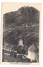 salins-les-bains  tour d'andelot et fort saint-andré