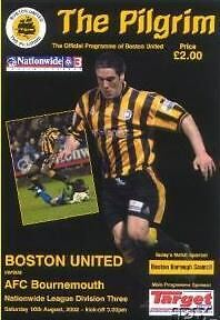2002 BOSTON v BOURNEMOUTH 1ST EVER GAME IN LEAGUE
