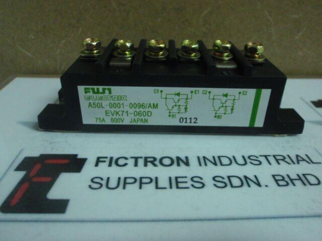 NEW LOT OF 5PCS EVK71-060D FUJI IGBT MODULE EVK71060D A50L-0001-0096/AM