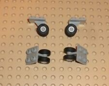 Modified 2 x 2 with Wheel Holder Bottom LEGO TW28 8c01 Plate WHITE x 1