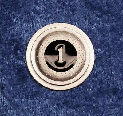 "Knap Empire Pewter ""1 Straight"" Clay Pewter Pin"