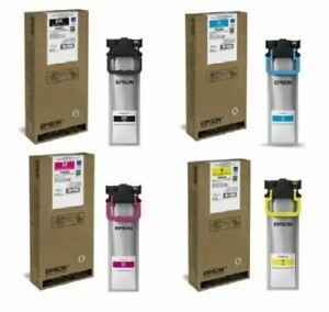 Epson Workforce XL Cartridge T9451 T9452 T9453 T9454 New & Sealed Long Exp 2024