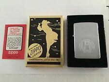 Unlit NIB Windy Vintage 1932-1982 COMMEMORATIVE Laser Etched USA ZIPPO LIGHTER