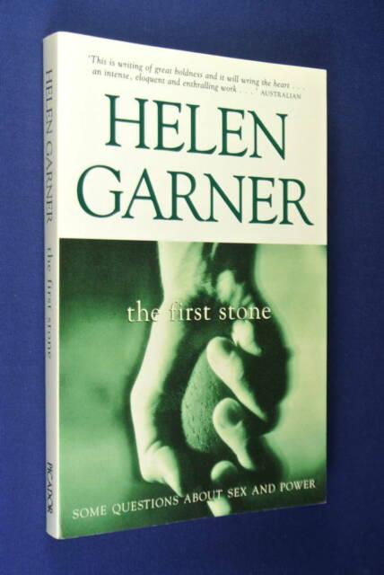 HELEN GARNER The First Stone AUSTRALIAN TRUE CRIME BOOK
