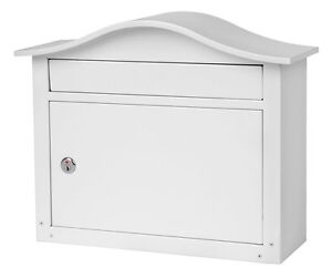 New Architectural Mailboxes Saratoga Wall Mount Metal