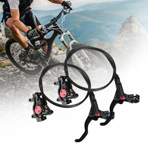 Mountain-Bike-Hydraulic-Disc-Brakes-levers-Calipers-Front-Rear-Brake-Lever-Blue