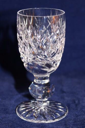 "3 1//4/"" Cordial Waterford DONEGAL Aperitif Liquor Glass or Goblet"