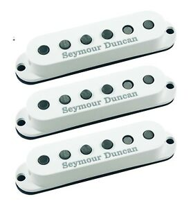 Seymour-Duncan-California-50-039-s-White-Single-Coil-Set-SSL-1-Strat-Replacement
