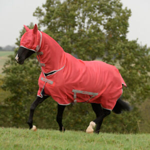 Bucas Freedom Fly Sheet Full Neck Poney-paradise Pink-afficher Le Titre D'origine