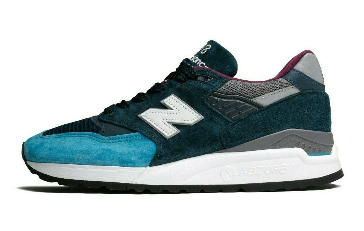 New Balance 998 Made In USA M998TCA bluee Navy Men SZ 8 - 12
