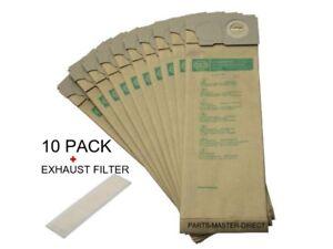 SEBO-BS36-BS46-350-360-450-460-Sacs-Aspirateur-10-Pack-amp-echappement-Filtre-genuine-part
