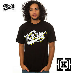 622940b620cb KR3W Popfly Skateboard T-Shirt Tee Black M NWT NEW $25 35€ Snow Surf ...