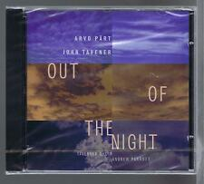 ARVO PART CD NEW OUT OF THE NIGHT JOHN TAVENER ANDREW PARROTT