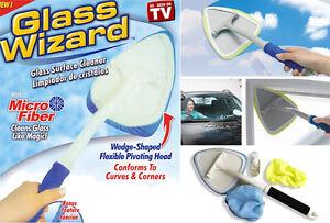 limpiador de cristales y ventanas glass wizard cabezal rotativo