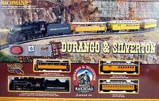 Bachmann HO Scale Train Sets Analog Durango & Silverton 00710