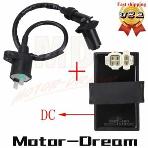 Ignition Coil /& AC CDI Box For Honda Foreman 400 450 TRX400 450 FourTrax Foreman