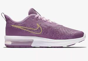 Détails sur Nike Air Max Sequent 4 Filles, Girls, Taille 35,5 Rose Violet or aq2245 501 afficher le titre d'origine