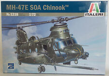 AVIATION : MH-47E SOA CHINOOK 1/72 SCALE MODEL KIT SET BY ITALERI