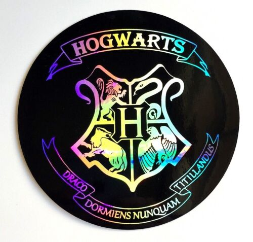 "Harry Potter Hogwarts 3.5/"" Sticker Decal Car 3D Reflective window bumper school"