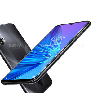6.6 inch A50 Android 9.0 Smartphone Unlocked Cell Phones Dual SIM Quad Core 19:9