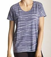 J Jill Pure Jill Easy Print 100% Cotton Tee Top Size Xs Night Sky $49