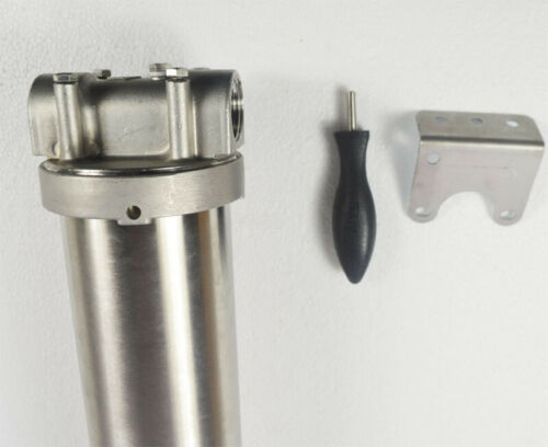 Variety Size Water Filter Housing Corrosion-resistant Stainless Steel Cylinder