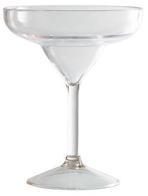 Cóctel Vidrio Copa Para Margarita Policarbonato 6 Piezas Generous Piazza Effepi
