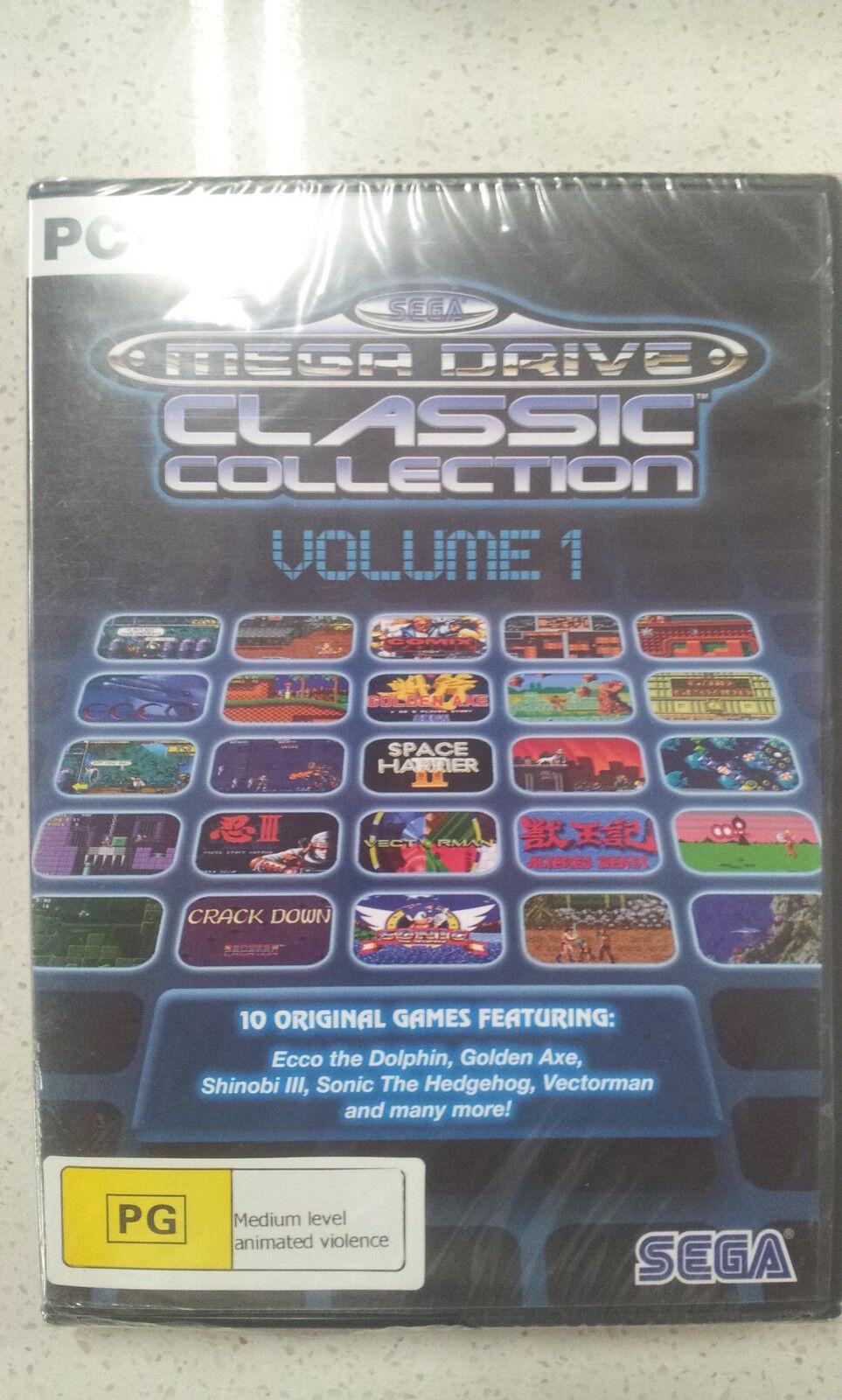 Sega Mega Drive Classic Collection Volume 1 PC Game New