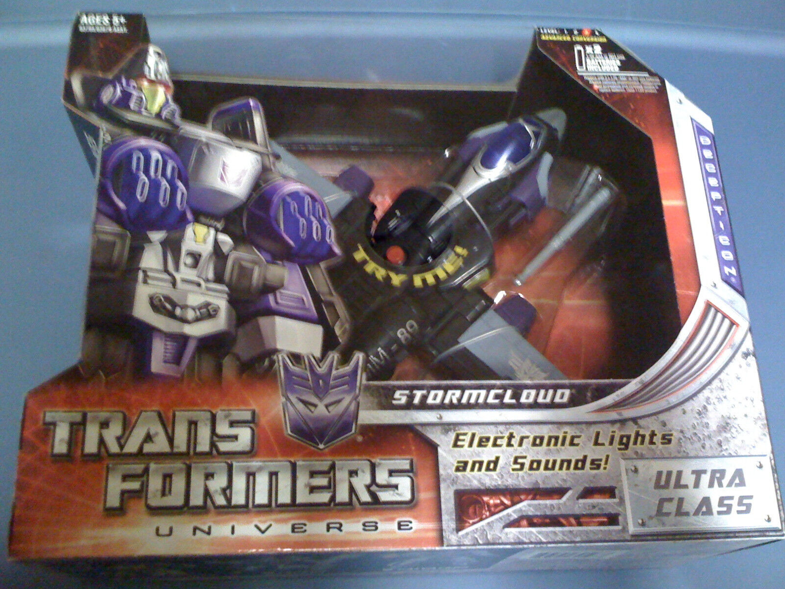 TRANSFORMERS Universe Stormcloud Electronic Lights Sounds NEW FREE SHIP US