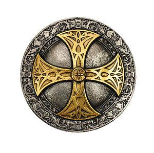 Herzhaft Celtic Shield Belt Buckle Mittelalter Design Gürtelschnalle Kelten Ornament *329 Fortgeschrittene Technologie üBernehmen Kleidung & Accessoires Herren-accessoires