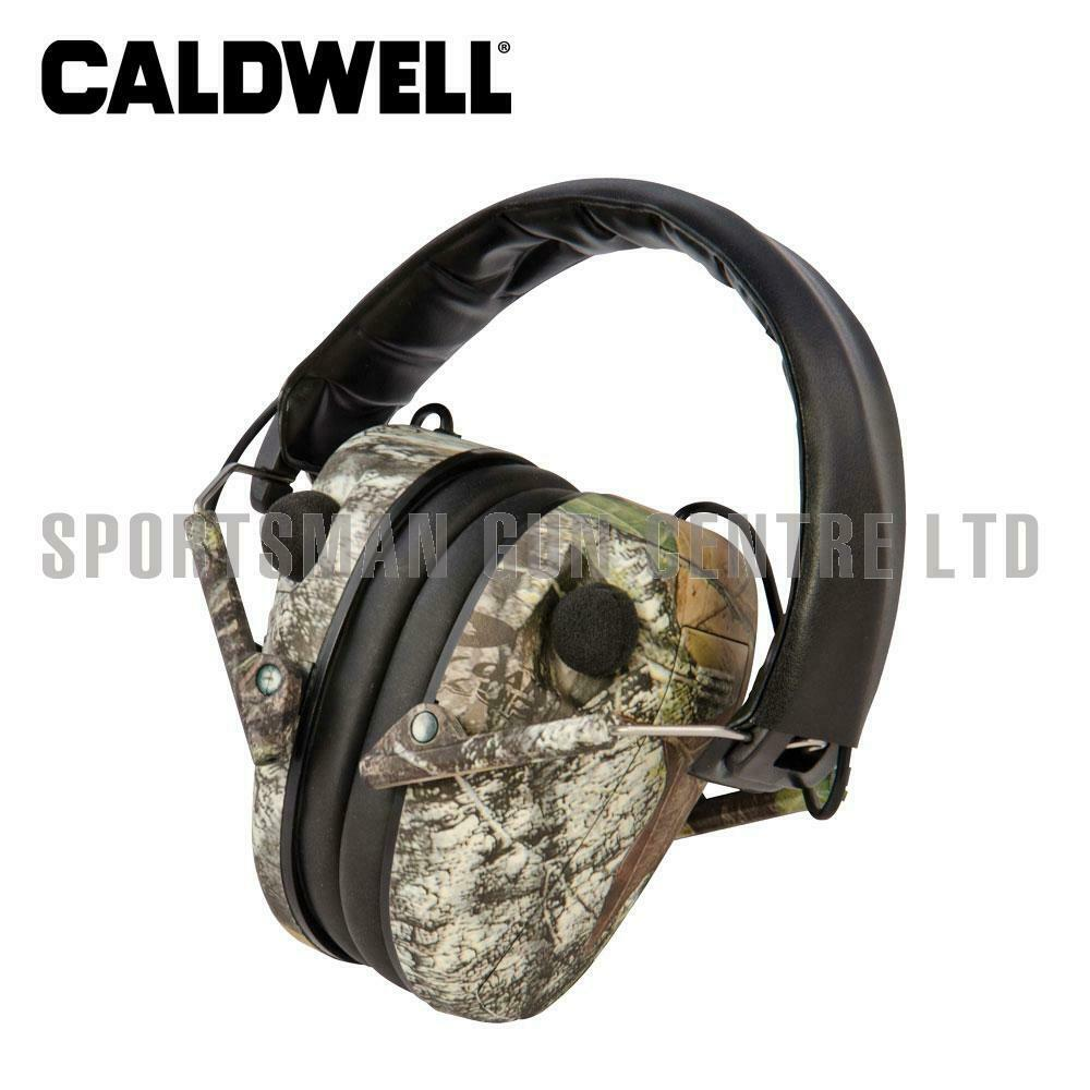 Caldwell E-Max Low Profile Electronic Hearing Predection Mossy Oak Break Up