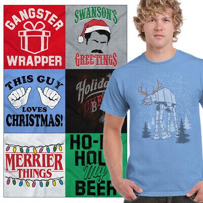 Funny Ugly Christmas Tee Shirt Gift For Men Holiday Gift Graphic Xmas Tshirts T
