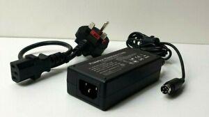 POWERTRON PA1060-240T1A250 24V 2.5A 4 PIN power supply adapter CITAQ H10 POS