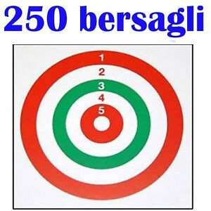 Bersagli Per Pistola Carabina Soft Air Aria Compressa Fucile Bersaglio Cartone Ebay