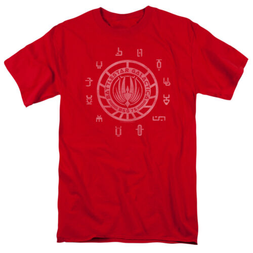 Battlestar Galactica New Series COLONIES Licensed Adult T-Shirt All Sizes