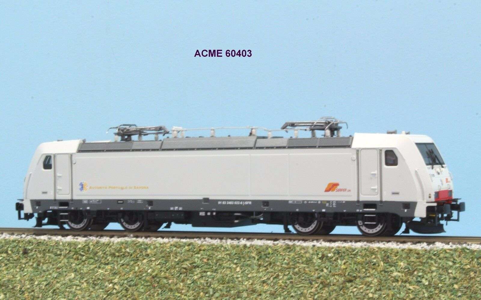 ACME 60403 SERFER locomotiva E 483 Autorità Portuale Savona