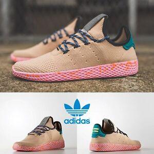 d4a599100f6fa Adidas x Pharrell Williams PW Tennis HU Unisex Running Pink BY2672 ...