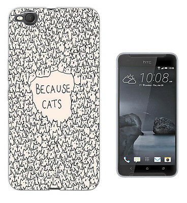 552 Because Cats Collage Case Cover For HTC 10 M8 M9 A9 X9 DESIRE 530 610 825