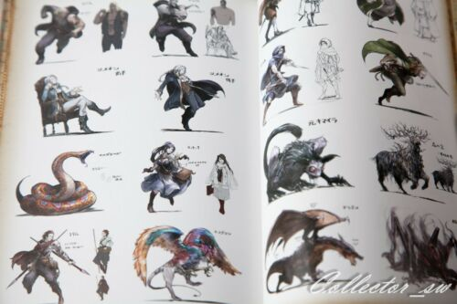 3-7 DaysOctopath Traveler Official Complete Guide /& Art Book from JP