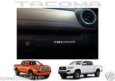 Chrome Mirror Vinyl Glove Box Letters Inserts 2016-2017 Toyota Tacoma New