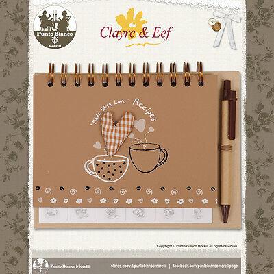 Clayre & Eef | 6pa0030 | Ricettario - Recipe Book | Shabby Chic