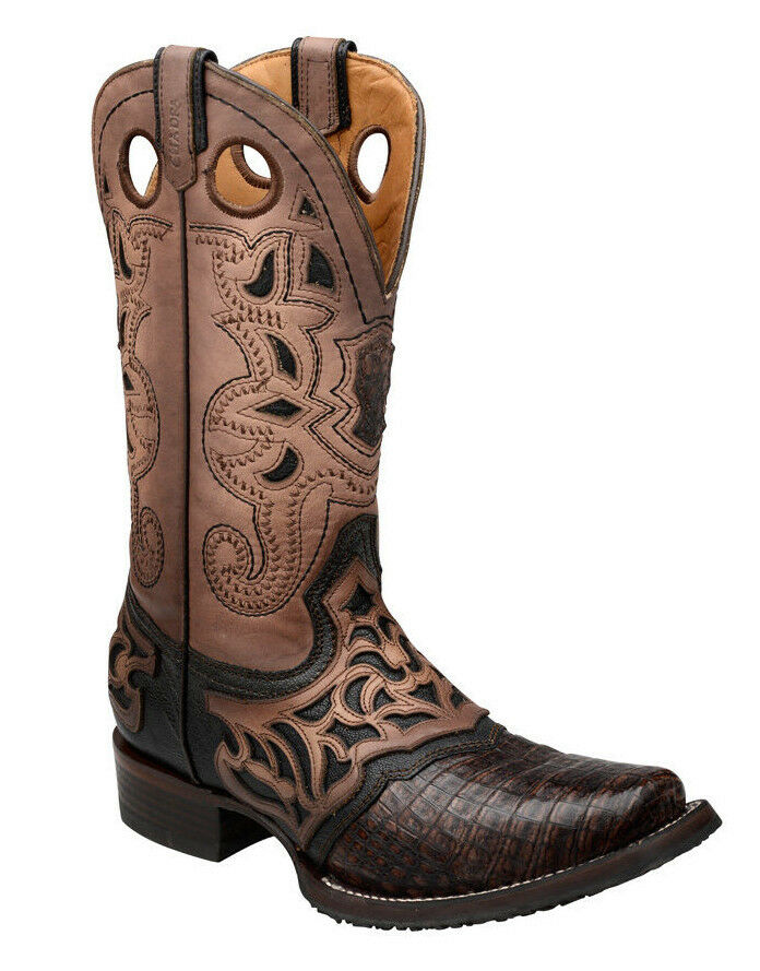 2I03FY Crocodile Rodeo Western Boot made by Cuadra