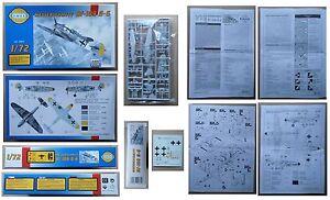 MESSERSCHMITT-BF-109-G-6-Smer-1-72-model-kit-vintage-modellismo-Repubblica-Ceca
