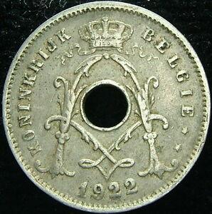 1922 Belgique Belgique Belgie 5 Cents Centimes 9ytuwgev-08004736-401304255