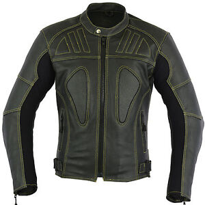 Skeleton-Leather-Motorbike-Motorcycle-Jacket-Racing-Protective-Biker-Jacket-CE